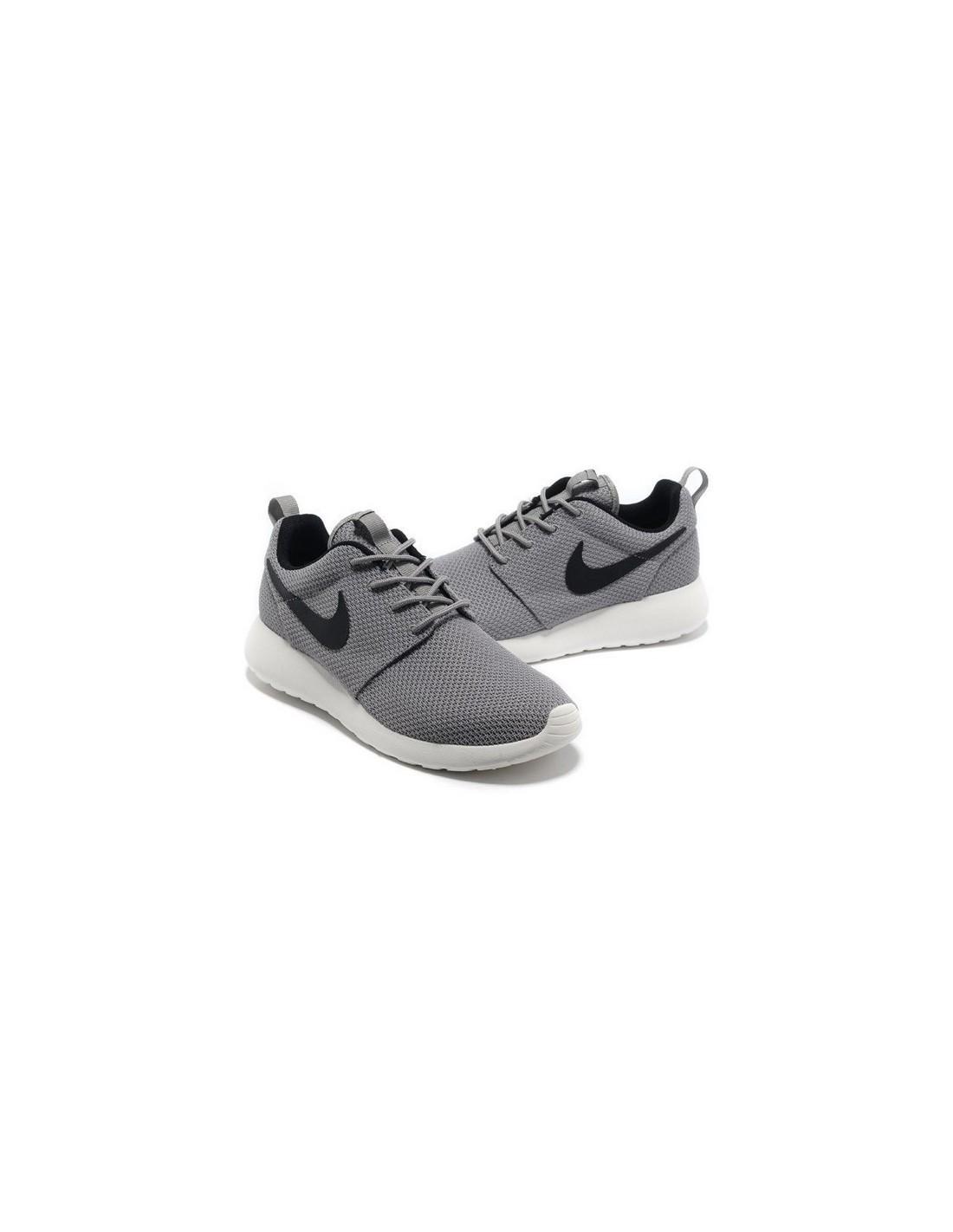 Nike Roshe Run Grises Y Blancas