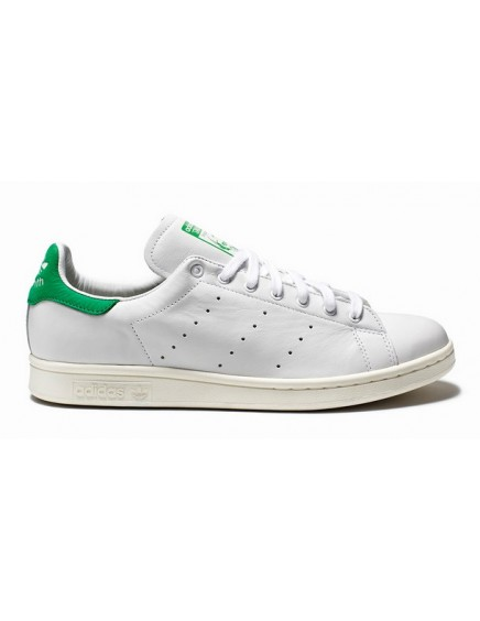 WHITE/GREEN ADIDAS STAN SMITH