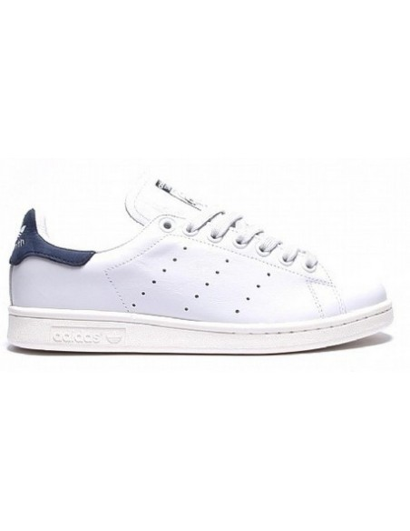 WHITE/BLUE ADIDAS STAN SMITH