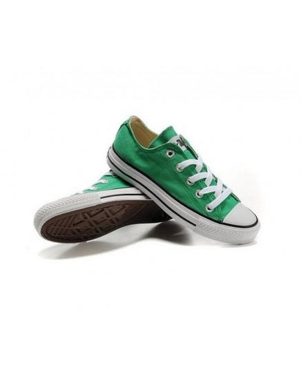 CONVERSE ALL STAR BAJAS VERDES