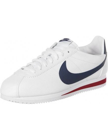 WHITE RED NIKE CORTEZ