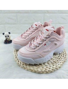 FILA DISRUPTOR LOW ROSAS