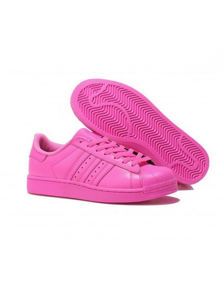 PINK ADIDAS SUPERSTAR