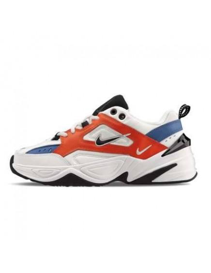 Nike M2k Tekno Blancas Rojas