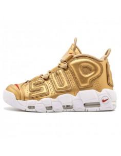 Nike Uptempo Supreme Doradas