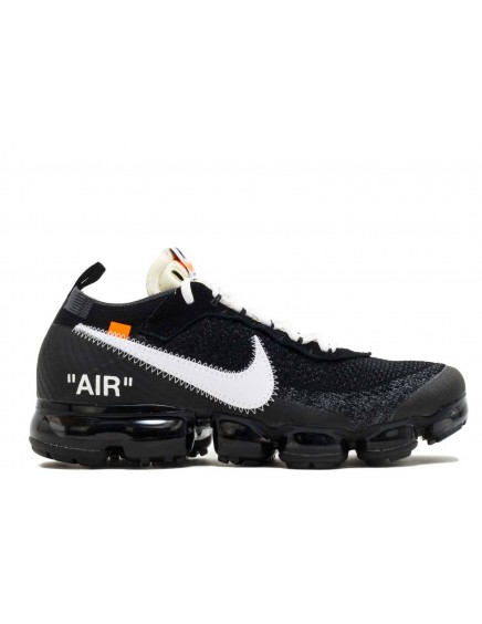 Nike Air VaporMax Flyknit Off-White Negras