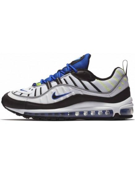 Nike Air Max 98 Blancas Azules