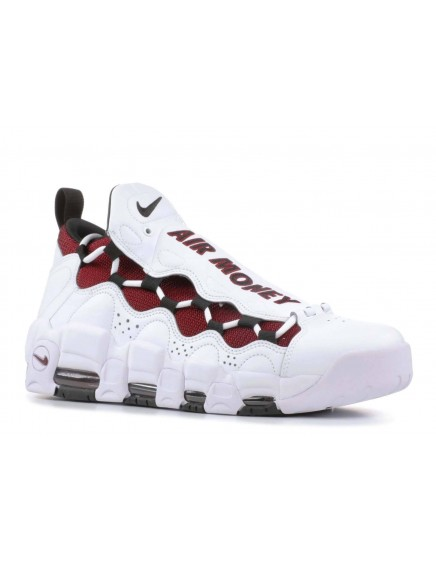 NIKE AIR MORE MONEY BLANCAS