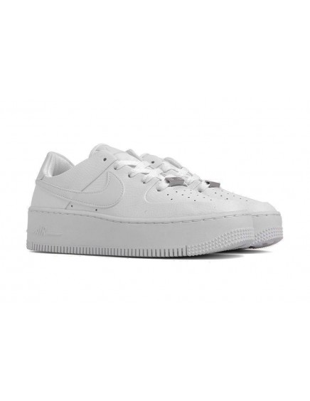 NIKE AIR FORCE ONE PLATAFORMA BLANCAS