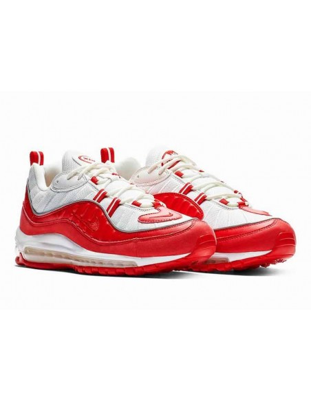 Nike Air Max 98 Rojas Blancas