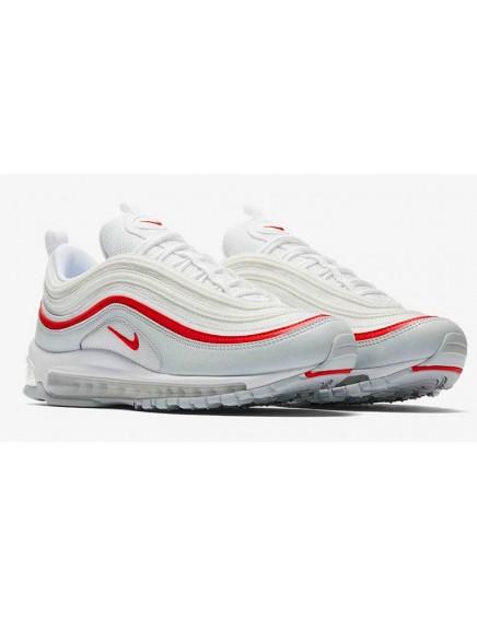 Nike Air Max 97 Blancas / Rojas