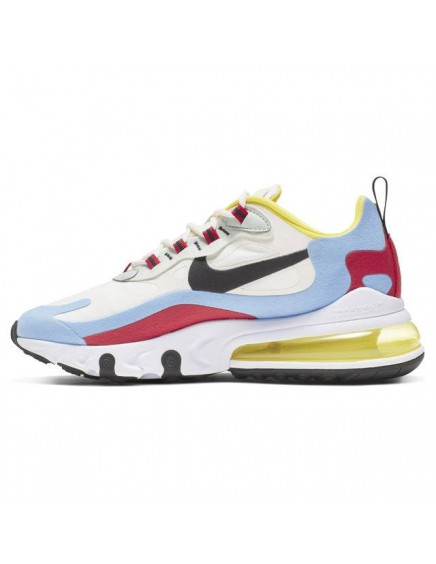 NIKE AIR MAX 270 REACT BLANCAS AZULES