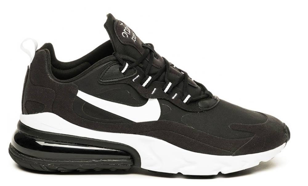 Nike Air Max 270 React negras por 54€ | Envío Gratis | OFERTA