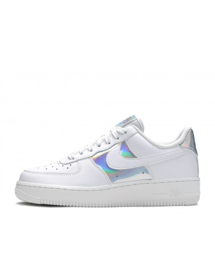 NIKE AIR FORCE ONE BLANCAS/METALIZADAS