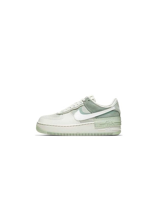 cúbico Pompeya Falange  NIKE AIR FORCE ONE SHADOW BLANCA Y VERDE - MGshops