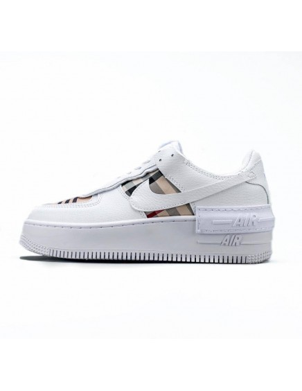 NIKE AIR FORCE ONE SHADOW CUADROS