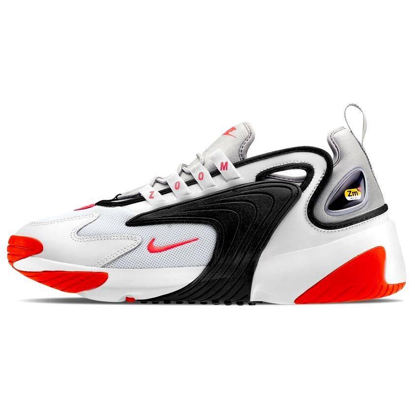 Piquete Retirarse Nido  Nike Zoom 2K Negro y Naranja - MGshops