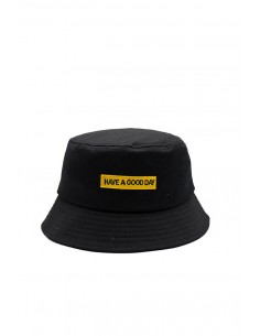 Gorro Negro Have a Good Day