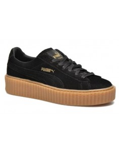 sports shoes 0d387 7ad60 BLACK WITH BROWN SOLE PUMA CREEPER BY RIHANNA 61€ CHEAP FENTY