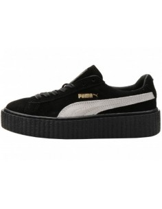 BLACK BLACK PUMA CREEPER BY RIHANNA