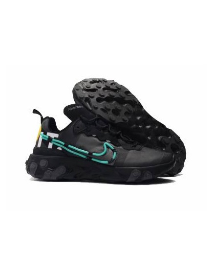 NIKE REACT ELEMENT 55 X UNDERCOVER NEGRAS