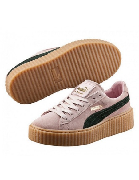 PINK PUMA CREEPER BY RIHANNA