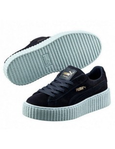 BLACK WITH BLUE SOLE PUMA CREEPER BY RIHANNA