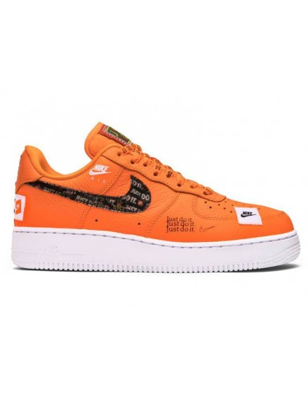 NIKE AIR FORCE ONE JUST DO IT NARANJAS BAJAS