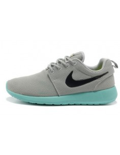 Roshe Run Gris Azul