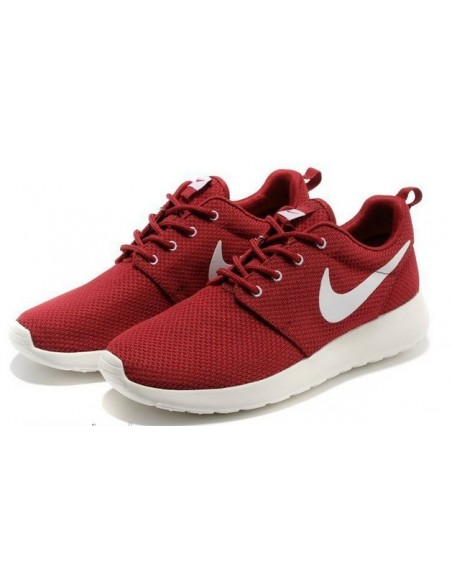 NIKE ROSHE RUN GRANATE