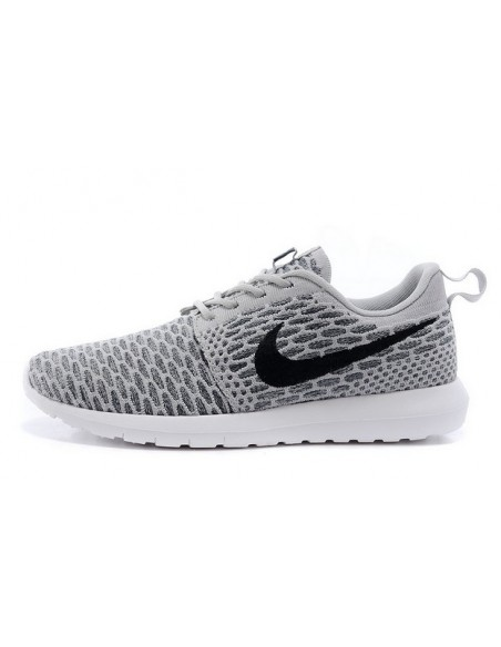 Grey Roshe Run Flyknit