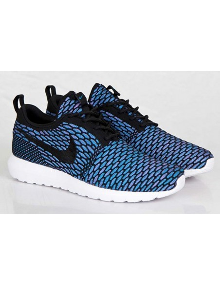 Roshe Run Flyknit Azules