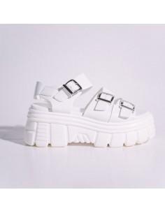 Sandalias Blancas con...
