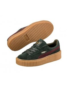 GREEN PUMA CREEPER BY RIHANNA