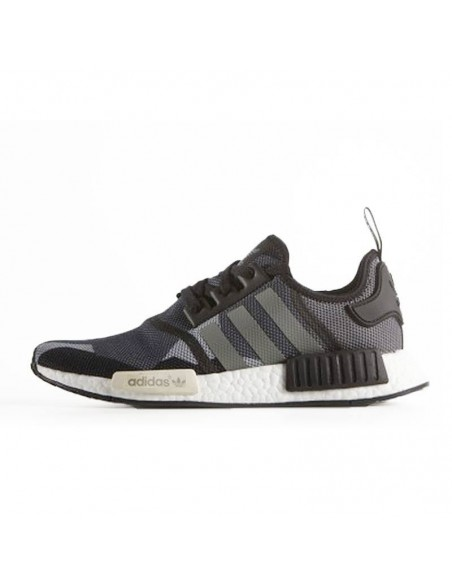 BLACK GREY ADIDAS NMD
