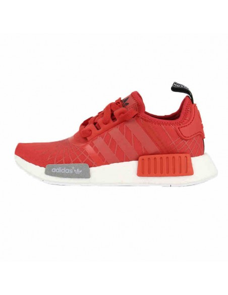 RED STRIPED ADIDAS NMD