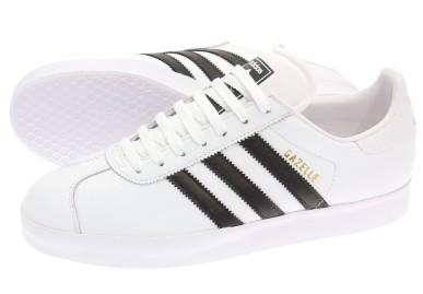 adidas gazelle negras y blancas
