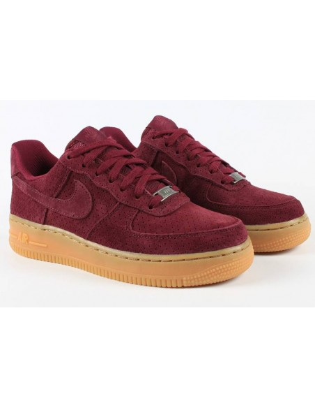 NIKE AIR FORCE ONE GRANATE ANTE BAJAS