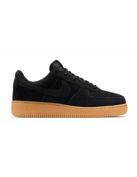 NIKE AIR FORCE ONE NEGRAS ANTE BAJAS