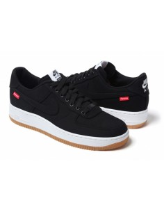 NIKE AIR FORCE ONE NEGRAS SUPREME BAJAS